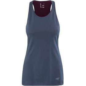 Arc'teryx Ardena Mouwloos Shirt Dames blauw